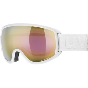 UVEX Topic FM sphere Goggles white mat/mirror gold